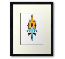 The Ice King Framed Print
