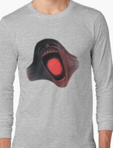 Screaming Face - The Wall Long Sleeve T-Shirt