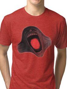 Screaming Face - The Wall Tri-blend T-Shirt