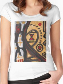 Mid Dream Women's Fitted Scoop T-Shirt