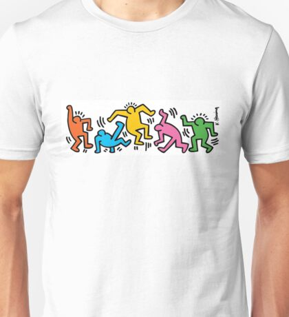 Keith Haring Color People Unisex T-Shirt