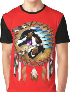 Spiritual Horse Graphic T-Shirt
