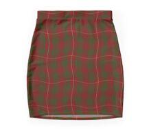 Red and Green Tartan effect Mini Skirt