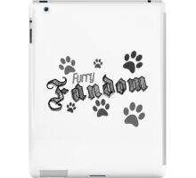 Fur Pride Retro Design iPad Case/Skin