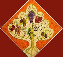 tree of life (orange) by picketty