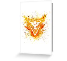 Team Instinct  Greeting Card