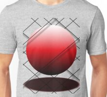 Floating Red Ball Unisex T-Shirt