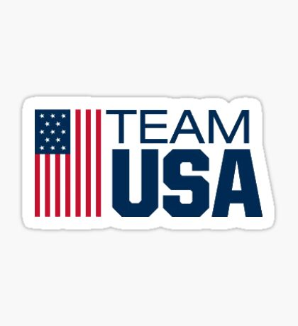 TEAM USA Sticker