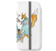 Animal Family Band iPhone Wallet/Case/Skin