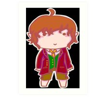 Bilbo Baggins Chibi Art Print