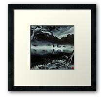 Nessie (like me) Framed Print