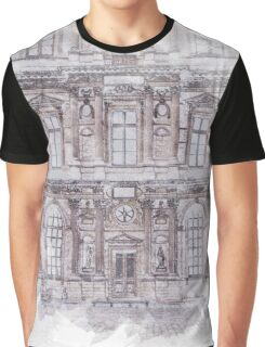 Paris Architecture Print Graphic T-Shirt