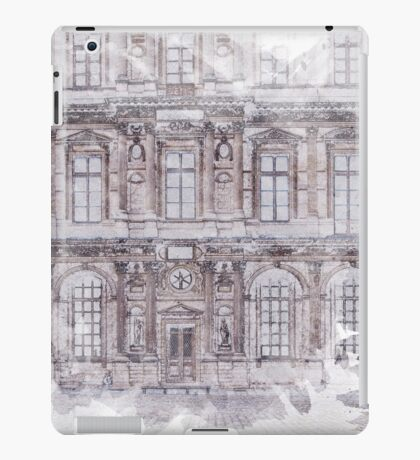 Paris Architecture Print iPad Case/Skin