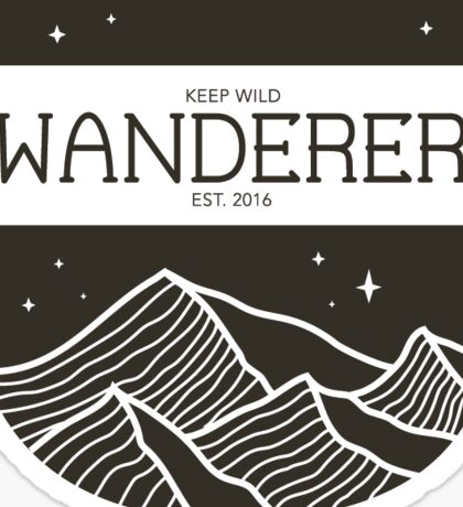 Keep Wild: Wanderer Sticker
