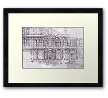 Paris Architecture Print Framed Print