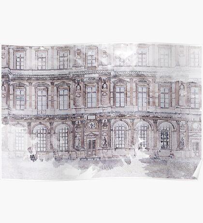 Paris Architecture Print Poster