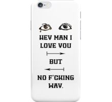 Twin Size Mattress The Front Bottoms iPhone Case/Skin
