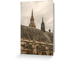 House of Parliament from Behind Greeting Card