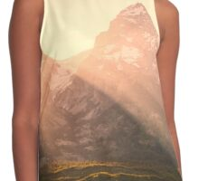 Mountains and Sun Rays Contrast Tank