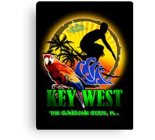 Summer In Key West Canvas Print