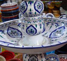 Tunisia Pottery Store Sticker