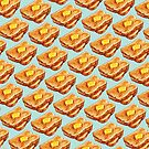 Buttered Toast Pattern by KellyGilleran