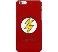 Flash Bam Bazinga! iPhone Case/Skin