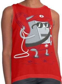 Whistle While You Work Contrast Tank