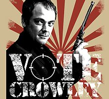 Vote For Crowley - Your King Of Hell! by Madita