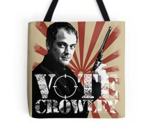 Vote For Crowley - Your King Of Hell! Tote Bag