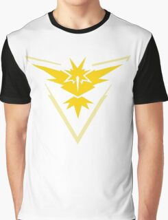 Team Instinct Pokemon Go shirt Graphic T-Shirt
