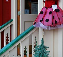 lady bug dress by Tracey Hampton