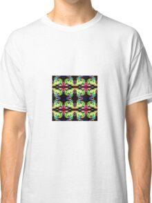 Bright fractal pattern Classic T-Shirt