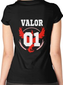 TEAM VALOR - Jersey Women's Fitted Scoop T-Shirt