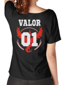 TEAM VALOR - Jersey Women's Relaxed Fit T-Shirt