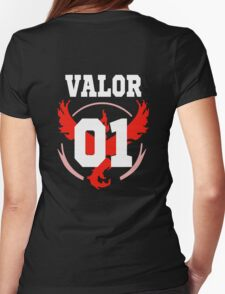 TEAM VALOR - Jersey Womens Fitted T-Shirt