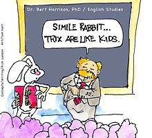 Silly Rabbit.....It's The Grammar Police by Rick  London