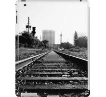 RAILROAD B/W iPad Case/Skin