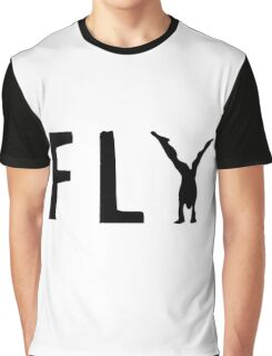 Funny Fly Graphic Design Graphic T-Shirt