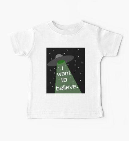 I Want to Believe Baby Tee