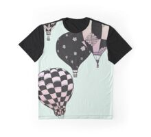 Pastel Skies Hot Air Balloon Rides Graphic T-Shirt