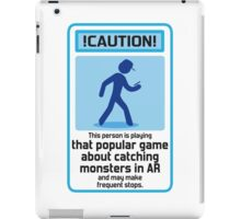 That popular monster catching game  iPad Case/Skin