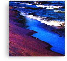 Lake Erie Abstract Canvas Print