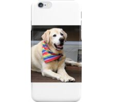 RICH THE RETIRED SEEING EYE DOG iPhone Case/Skin