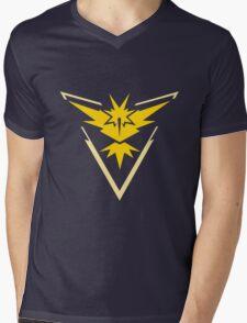 Team Instinct - Pokemon Go Team Merch Mens V-Neck T-Shirt