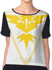 Team Instinct - Pokemon Go Team Merch Chiffon Top