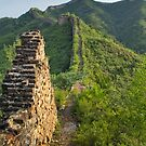 Ruined Wall above Gubeikuo. by Alex Fricke