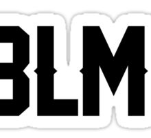#BLM Sticker