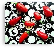 Red Hots Canvas Print