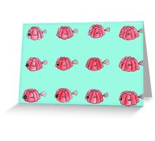 Jelly-fish Greeting Card